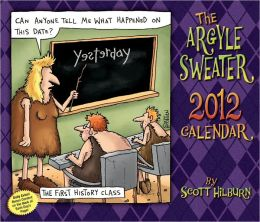 2012 Argyle Sweater, The Box Calendar