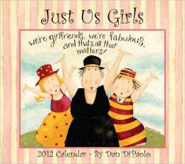 2012 Brookside: Just Us Girls Wall Calendar