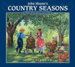 2012 Brookside: Country Seasons Wall Calendar