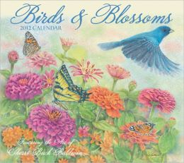 2012 Brookside: Birds & Blossoms Wall Calendar