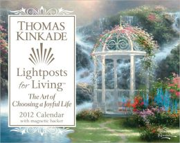 2012 Thomas Kinkade Lightposts for Living Mini Box Calendar