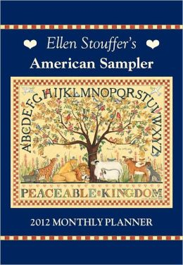 2012 Brookside: American Sampler Monthly Pocket Planner Calendar