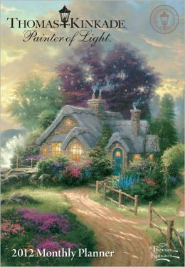 2012 Thomas Kinkade Painter of Light Monthly Pocket Planner Calendar