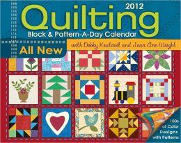 2012 Quilting Box Calendar