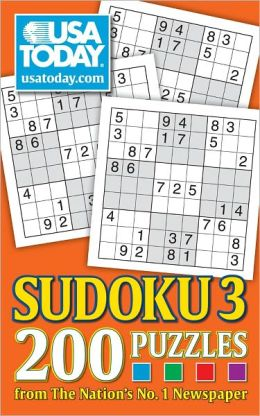 USA TODAY Sudoku 3: 200 Puzzles