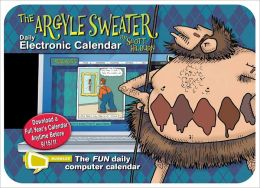 Argyle Sweater: Bubbles Electronic Calendar