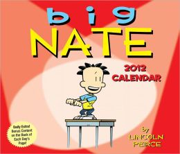 2012 Big Nate Box Calendar