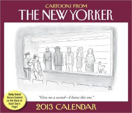 2013 Cartoons from The New Yorker Day-to-Day Calendar