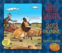 2013 Argyle Sweater Day-to-Day Calendar