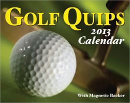2013 Golf Quips Mini Box Calendar