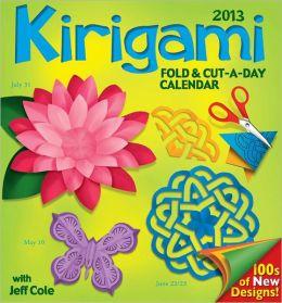 2013 Kirigami Fold & Cut-a-Day Calendar