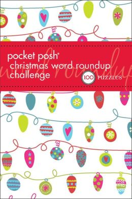 Pocket Posh Christmas Word Roundup Challenge: 100 Puzzles