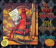 Book Cover Image. Title: 2014 Argyle Sweater Day-to-Day Calendar, The, Author: Scott Hilburn