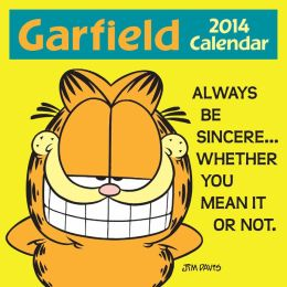 2014 Garfield Mini Wall Calendar