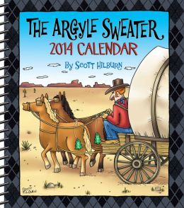 2014 Argyle Sweater Weekly Planner Calendar, The