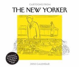 2014 Cartoons from The New Yorker Day-to-Day Calendar