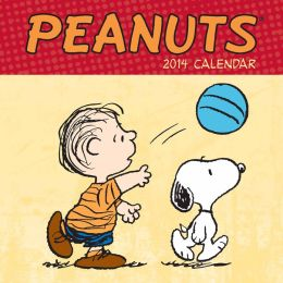 2014 Peanuts Mini Wall Calendar