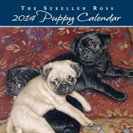 2014 Sueellen Ross Puppy Mini Wall Calendar