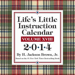 2014 Life's Little Instruction Day-to-Day Calendar