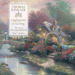 2014 Thomas Kinkade Lightposts for Living Wall Calendar