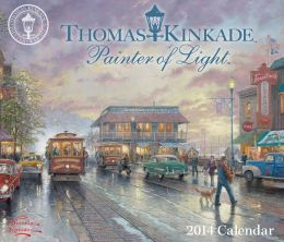 2014 Thomas Kinkade Painter of Light Day-to-Day Calendar