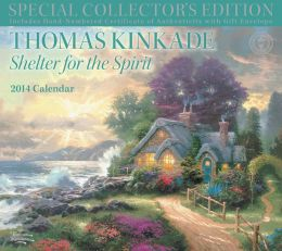 2014 Thomas Kinkade Special Collector's Edition Deluxe Wall Calendar