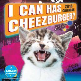 2014 I Can Has Cheezburger? Wall Calendar