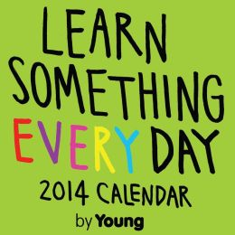2014 Learn Something Every Day Day-to-Day Calendar
