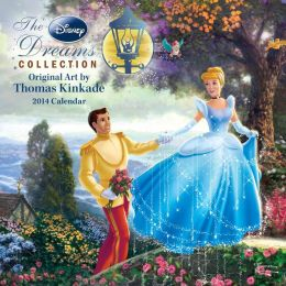2014 Thomas Kinkade: The Disney Dreams Collection Mini Wall Calendar