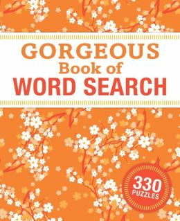 Gorgeous Book of Word Search
