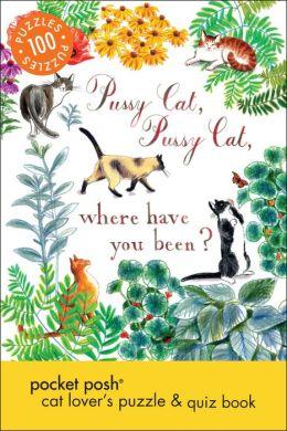 Pocket Posh Cat Lover's Puzzle & Quiz Book: 100 Puzzles