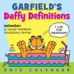 2015 Garfield Wall Calendar