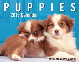 2015 Puppies Mini Day-to-Day Calendar
