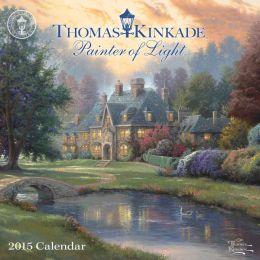 2015 Thomas Kinkade Painter of Light Mini Wall Calendar