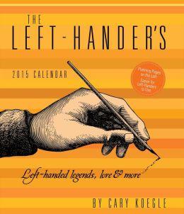 2015 Left-Hander's Weekly Planner Calendar