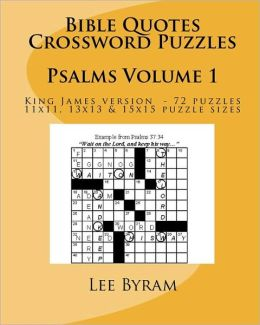 Bible Quotes Crossword Puzzles