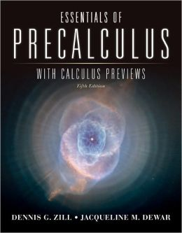 Essentials Of Precalculus With Calculus Previews
