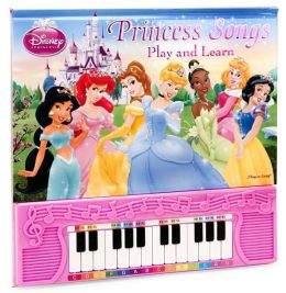 Disney Princess Songs: Play and Learn (Play-a-Song Series)