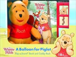 Winnie the Pooh: A Balloon for Piglet: Book, Box & Plush
