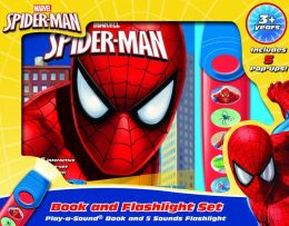 Spiderman-Little Flashlight Adventure Box Set
