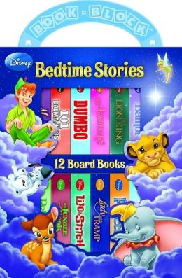 Disney Classic: Bedtime Stories (12 Board Book Block)