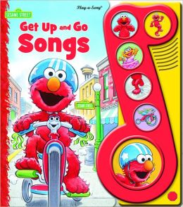 Sesame Street Get Up and Go 6 Button Little Music Note