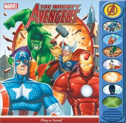 The Mighty Avengers: 8 button Play A Sound