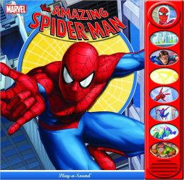 The Amazing Spiderman 8 Button Play-A-Sound