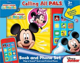 Mickey Mouse Clubhouse: Calling All Pals (Book & Phone Set)