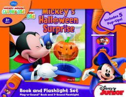 Mickey Mouse Clubhouse: Mickey's Halloween Surprise- Little Flashlight Adventure Box Set