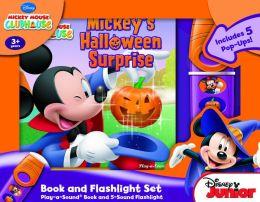 Mickey Mouse Clubhouse: Mickey's Halloween Surprise- Little Flashlight Adventure Box Set