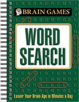 Brain Games Mini Word Search