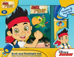 Jake and the Neverland Pirates: What Do You See?: Pop Up Book and Flashlight Set