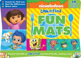 Nickelodeon Fun Mat Look and Find